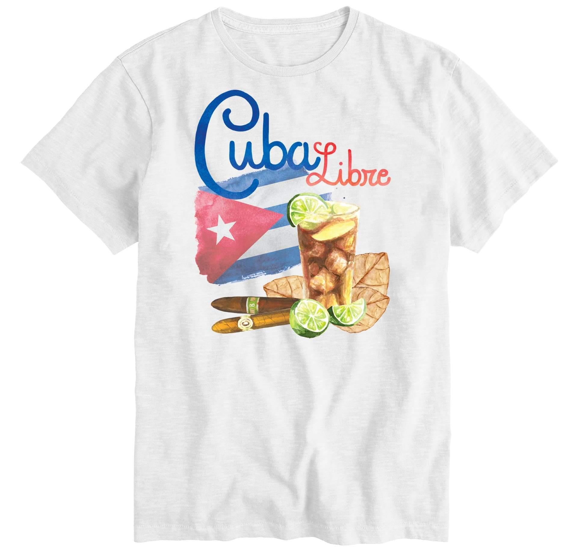 T-SHIRT SAINT BARTH CUBA LIBRE