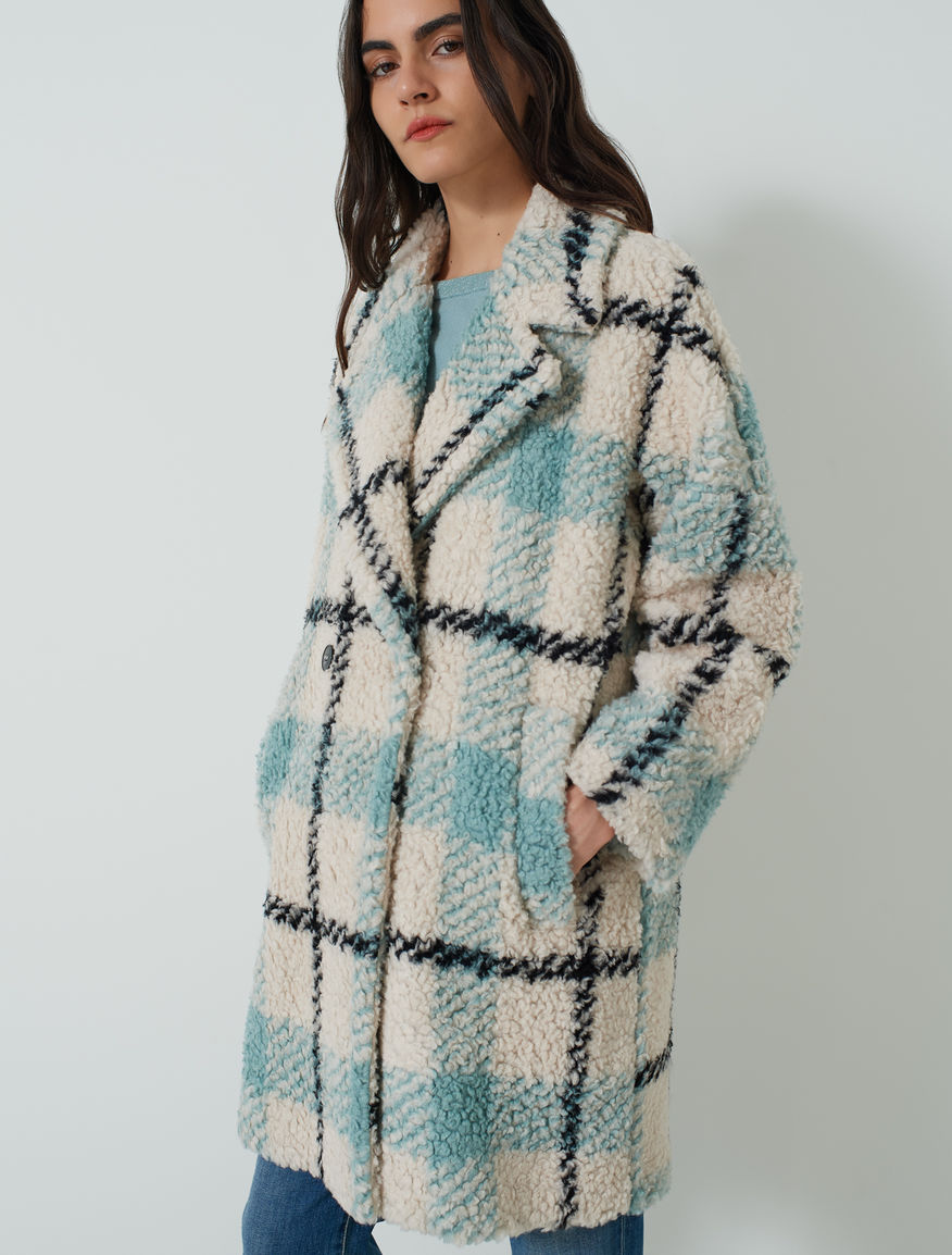 EMME CAPPOTTO TARTAN