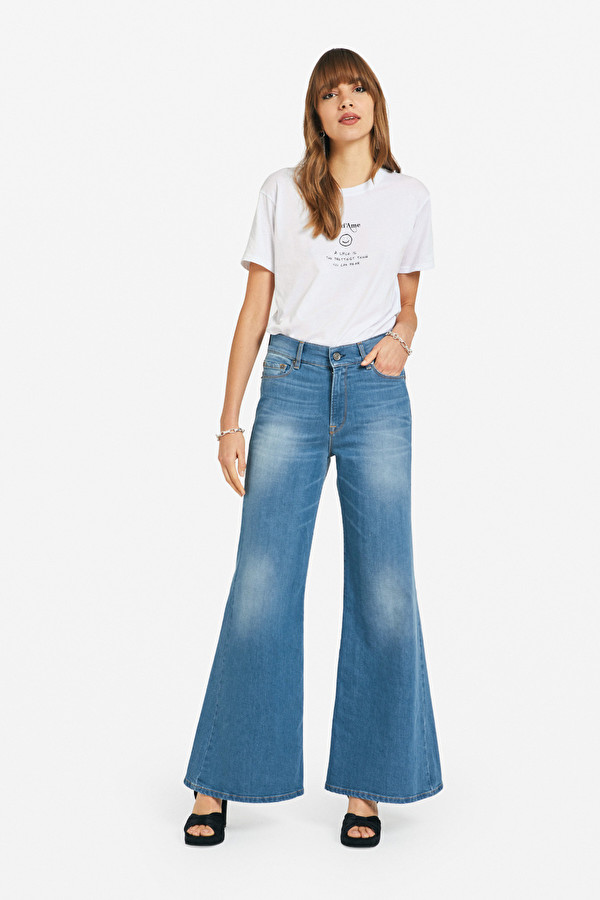 OTTOD'AME JEANS PALAZZO