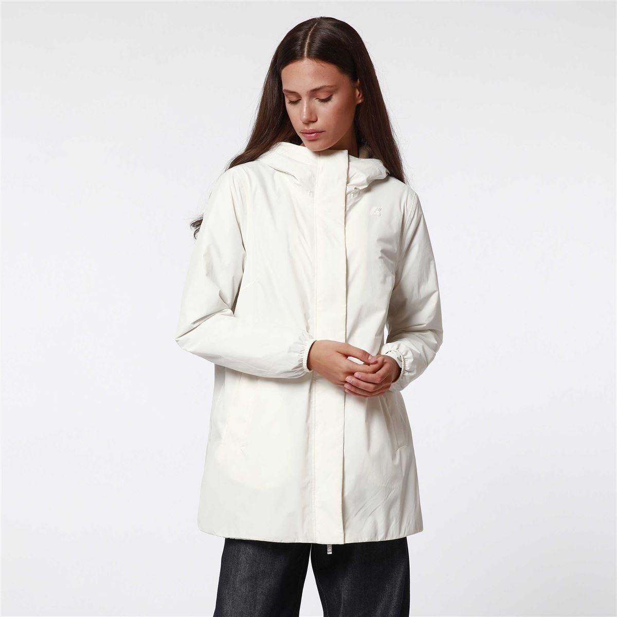 KWAY SOPHIE MICRO RISTOP MARMOTTA BIANCO